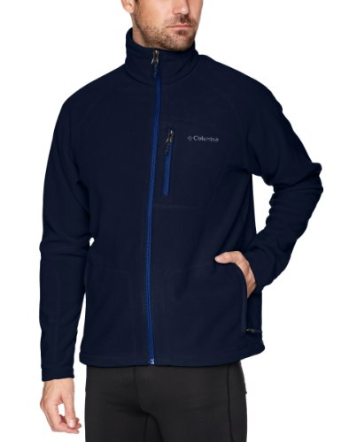 columbia-fast-trek-ii-veste-polaire-zippe-homme-collegiate-navy-fr-m-taille-fabricant-m