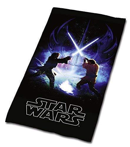 Tex idea Star Wars JODA Skywalker Badetuch Sauna Handtuch VELOURSTUCH 75 x 150 Wow - All-In-One-Outlet-24 -