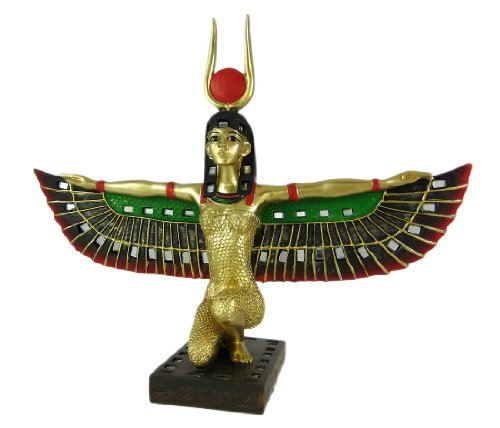 Private Label Geflügelten Isis Ägyptische Göttin Statue Gottheit Mythologie