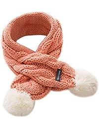 Gysad Encantador Cuello bufanda niña Cálido y confortable Cuello bufanda infantil Lana Bufanda niña