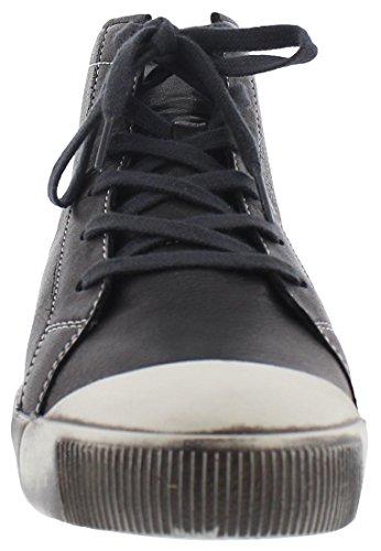 softinos KIP405SOF smooth leather HW17 Schwarz
