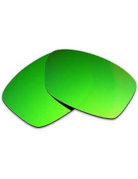 Hkuco Plus Replacement Lenses For Oakley Jupiter Squared Sunglasses Green Polarized