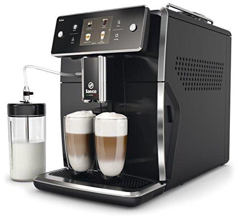 Philips Saeco Xelsis Independiente Máquina espresso Negro 1,6 L Totalmente automática - Cafetera (Independiente, Máquina espresso, 1,6 L, Granos de café, Molinillo integrado, Negro)