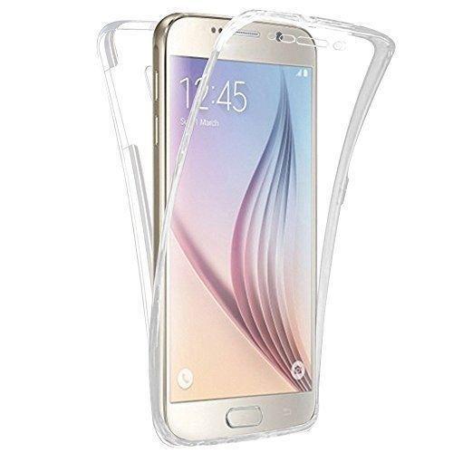 Preisvergleich Produktbild Connect Zone® Samsung Galaxy Klar Durchsichtig Ultradünn 360 grad Schützend Stoßfest Vorne und Hinten Ganzkörper TPU Silikon-Gel-hülle - Samsung A3 2015
