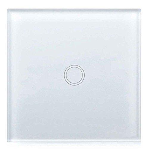 EU Wandleuchte Touch Switch Panel Auf/Aus Sensor Eine Gang Ein Weg Wasserdichte Home 240 V Controller Schalter Platte (Home Platten)