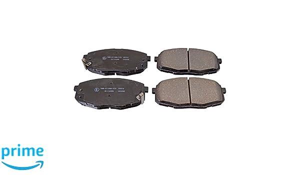 vorne, 4 Bremsbel/äge Blue Print ADC44251 Bremsbelagsatz