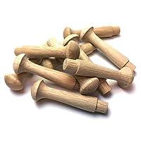 """Oak Shaker Peg 2.5"""" - Pack of 10"""