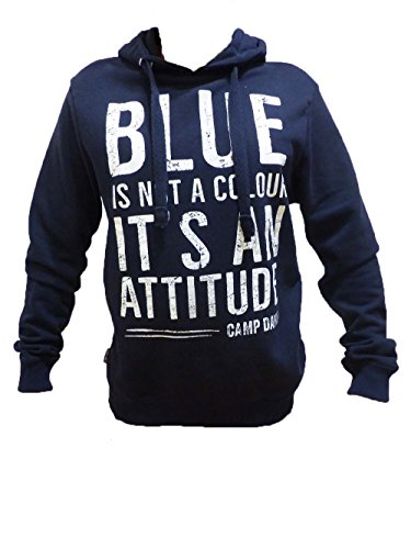 CAMP DAVID SWEATSHIRT ROUGH WATERS II DARK NAVY M L XL XXL XXXL (XL)