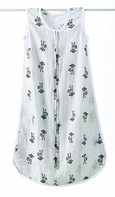aden + anais 8053 - Saco de dormir clásico, prelavado y fabricado con muselina de 100% algodón