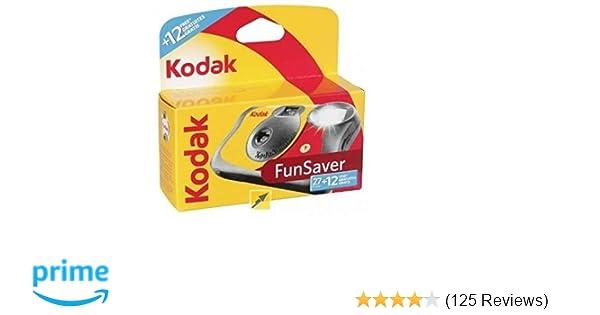 Kodak Single Use FunSaver Camera with Flash 27 exposures +12 free