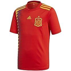 adidas Camiseta de la Selección Española de Fútbol para el Mundial 2018, Réplica Oficial, Niños, 1ª Equipación, Talla 152