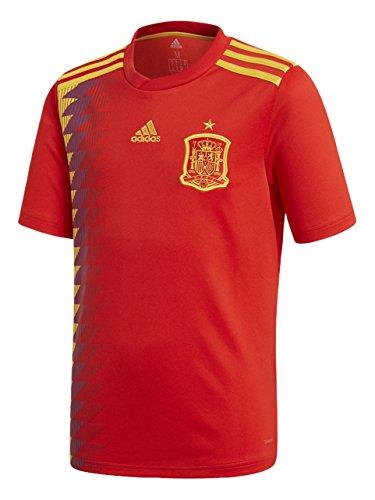 adidas Camiseta de la Selección Española de Fútbol para el Mundial 2018, Réplica Oficial, Niños, 1ª Equipación, Talla 128
