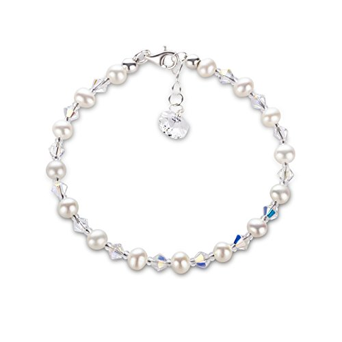 Schner-SD-feines-Perlenarmband-aus-funkelnden-Swarovski-Kristall-und-925-Silberschliee