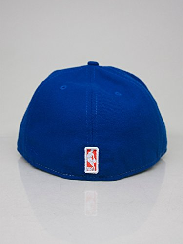 New Era NBA NEW YORK KNICKS Round Dway 59FIFTY Cap Bleu / Orange