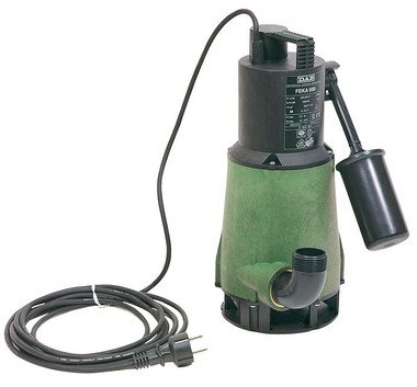 Pompe de relevage pour assainissement domestique FEKA - eaux usées - 0,55 kW - Plage débit: 0 à 12 m3/h