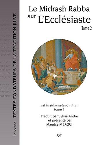 Le Midrash Rabba sur l'Ecclésiaste (tome 2)