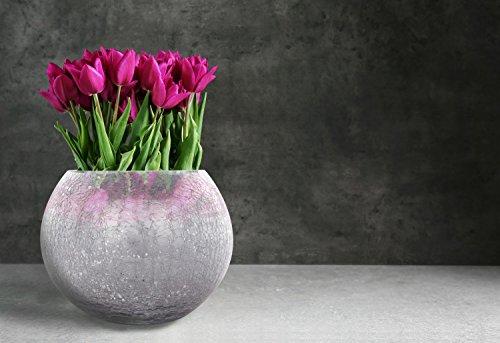 Kayoom DEKO Kugel Vase Rund WOHNZIMMERDEKO Form BLUMENVASE Dekoration