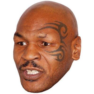 Preisvergleich Produktbild Mike Tyson Maske aus Pappe
