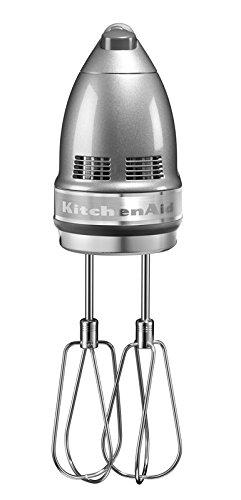 KitchenAid 5KHM9212ECU, Artisan Handrührer mit 9 Geschwindigkeitsstufen, Contur-Silber - 2