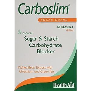 412vOKG5LUL. SS300  - HealthAid Carboslim - Kidney Bean Extract - 60 Vegan Capsules