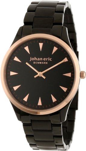 Johan Eric JE9000-10-007B - Reloj de pulsera hombre, color plateado