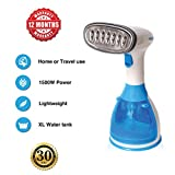 1500w hand-held Clothes Travel Steamer. Compact, lightweight design - XL water tank, fast