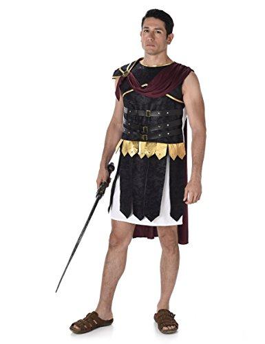 Römischer Gladiator Soldat Herren Griechischer Grecian Warrior Kostüm Neu (Römischer Soldat Erwachsene Kostüme)