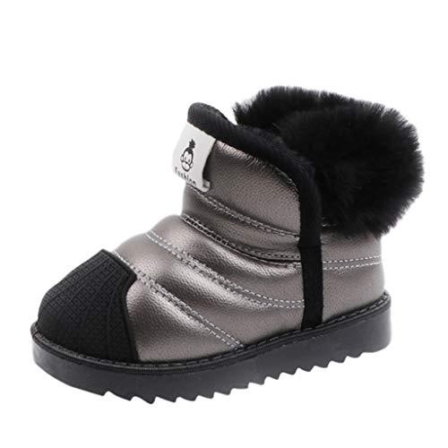 Kleinkind Kleinkind Baby Jungen Mädchen wasserdichte Schneeschuhe Kinder Winter warme Schuhe