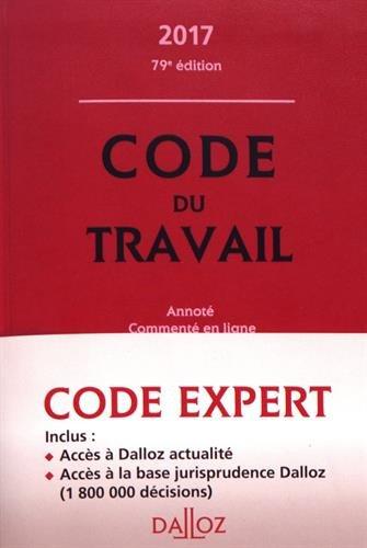 Code Dalloz Expert Travail 2017