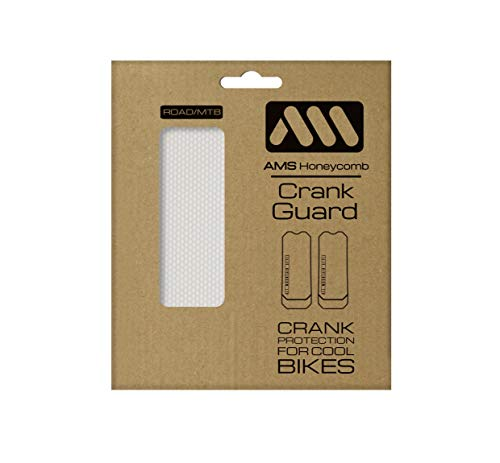 All Mountain Style Unisex-Adult Crank Guard, Klar/Silber, One Size -