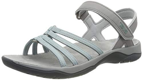 Teva Damen Elzada Sandal Web W's Riemchensandalen, Grün (Gray Mist 748), 41 EU (Teva Frauen Schuhe)
