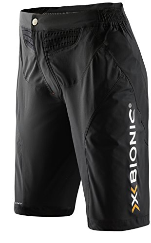 X-Bionic Damen Mountain Bike UPD Lady OW Pants Shorts, Black, XS -