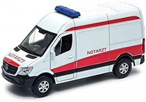 Mercedes Benz Sprinter Panel Van Notarzt Welly 1 34 1 39 Spielzeug