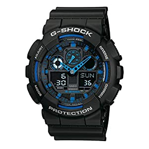 Casio G-Shock Analog-Digital Herrenarmbanduhr GA-100