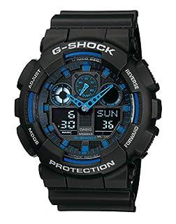 Casio G-SHOCK Reloj Analógico-Digital, 20 BAR, Negro, para Hombre, GA-100-1A2ER (B0039YOHYY) | Amazon price tracker / tracking, Amazon price history charts, Amazon price watches, Amazon price drop alerts