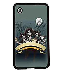 Fuson Designer Back Case Cover for Samsung Galaxy Tab 2 (7.0 Inches) P3100 (Skeletons Skull Ghost Family)
