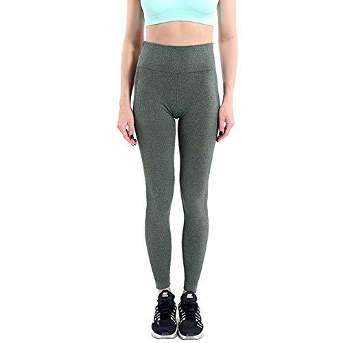 Feidaeu Frauen Yogahosen Hohe elastische Strumpfhose Schlank Schnell Trocknend Komfortable atmungsaktive DurableTraining-Hose