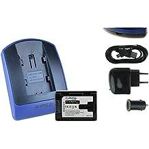 Baterìa + Cargador (USB/Coche/Corriente) para Olympus Li-70b // D-700 D-745 .. / FE-4020.. / X-940 X-990 / VG-110 VG-130 VG-160... ver lista