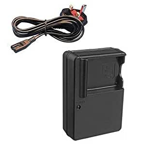 Mains Battery Charger for Panasonic Lumix DMC-FS4, DMC-FS6, DMC-FS7, DMC-FS8, DMC-FS9, DMC-FS10, DMC-FS11, DMC-FS12, DMC-FS15, DMC-FS25 and DMC-FH22 Digital Cameras - AAA Products®