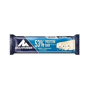 Multipower 53% Protein Bar – 24 x 50 g Eiweißriegel Box
