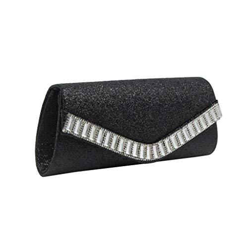 Mitlfuny handbemalte Ledertasche, Schultertasche, Geschenk, Handgefertigte Tasche,Art- und Weisefrauen-reine Farben-Diamant-Cocktailparty-Beutel-Ketten-Telefon-Abend-Beutel