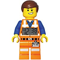 LEGO Movie - Reloj despertador con figura Emmet, (9009945)