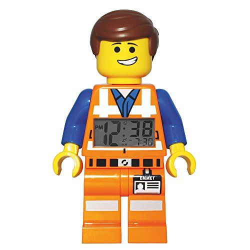 LEGO Movie - Reloj despertador con figura Emmet, (9009945)
