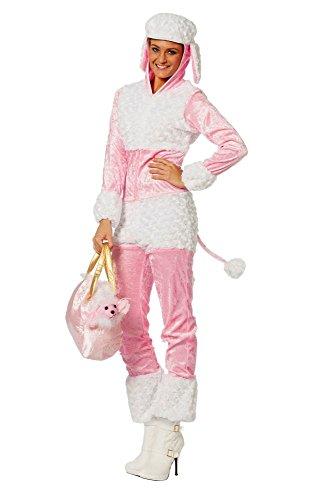 (Damen Kostüm Pudel Hund Hundekostüm Karneval Fasching Gr.44)