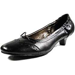 Ornela Brenti 33282-101 Damen Schuhe Premium Qualität Pumps Schwarz (schwarz) [EU 39.0]