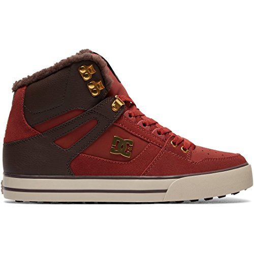 Rot Schuhe Dc-high-tops (DC Winterschuhe Spartan High WC WNT Rot Gr. 44.5)