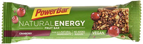 Barrita Energética Natural Energy Frutas PowerBar 24 Barritas x 40g Frutos Silvestres y Nueces