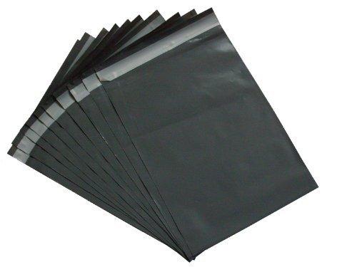 50 coloris gris en poly/éthyl/ène avec bande autocollante sacs postaux de grande taille//12 x 16 cm 305 x 405 mm adh/ésif demballage enveloppes postales Mail globe