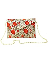 Homeart9 Women's Sling Bag (Embridered Handicraft Traditional Sling Bag,Multi-Coloured) - B077GZ441P
