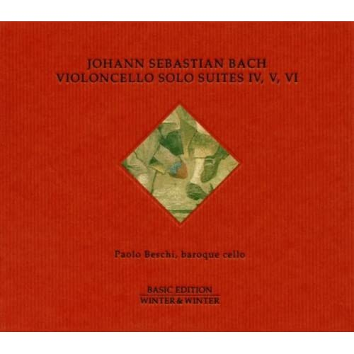 Bach: Violoncello Solo Suites IV, V & VI